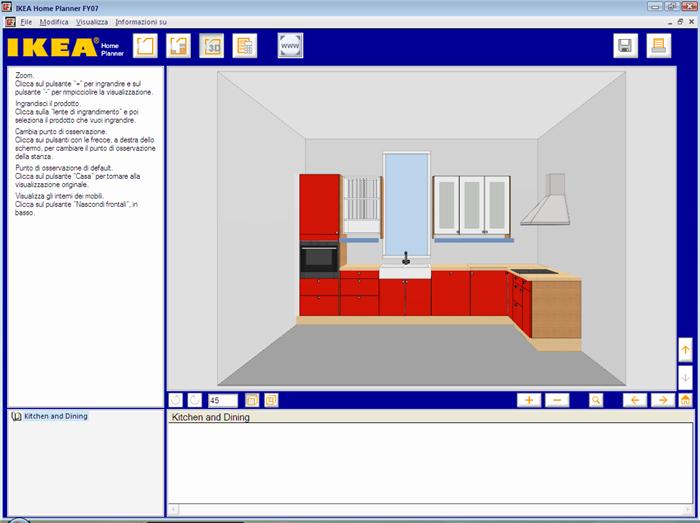 Il disastroso sistema del progetto illuminotecnico for Disegnare cucina 3d online