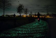 Illuminazione integrata con il paesaggio