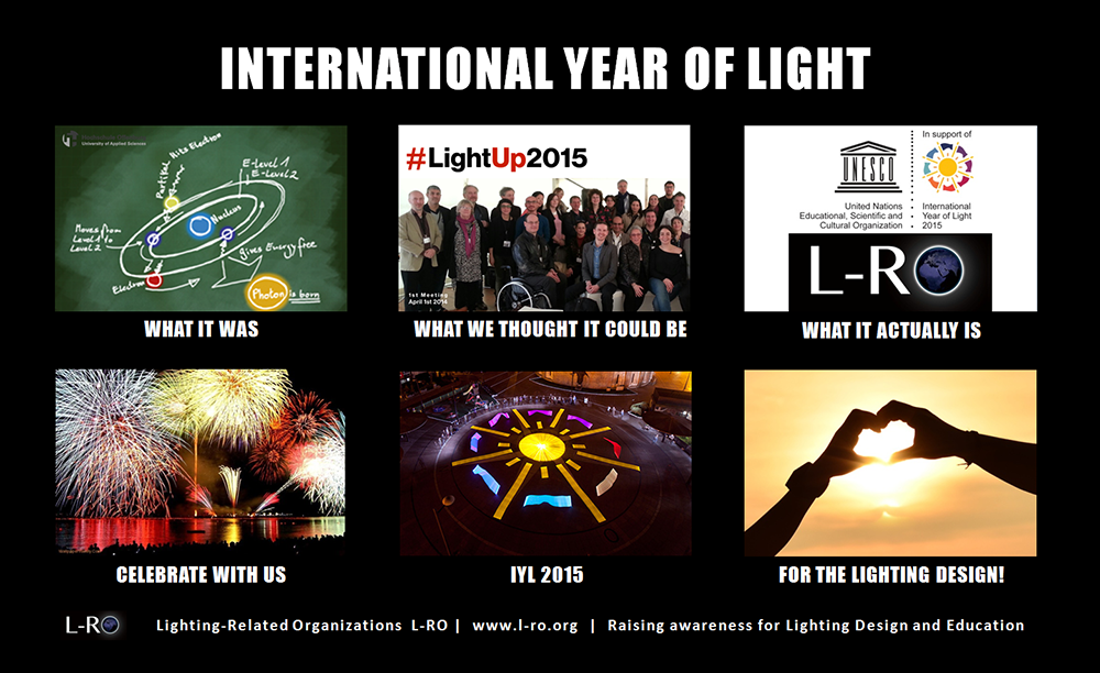 International Year of Light L-RO