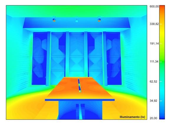 falsi colori simulazione fotorealistica della luce