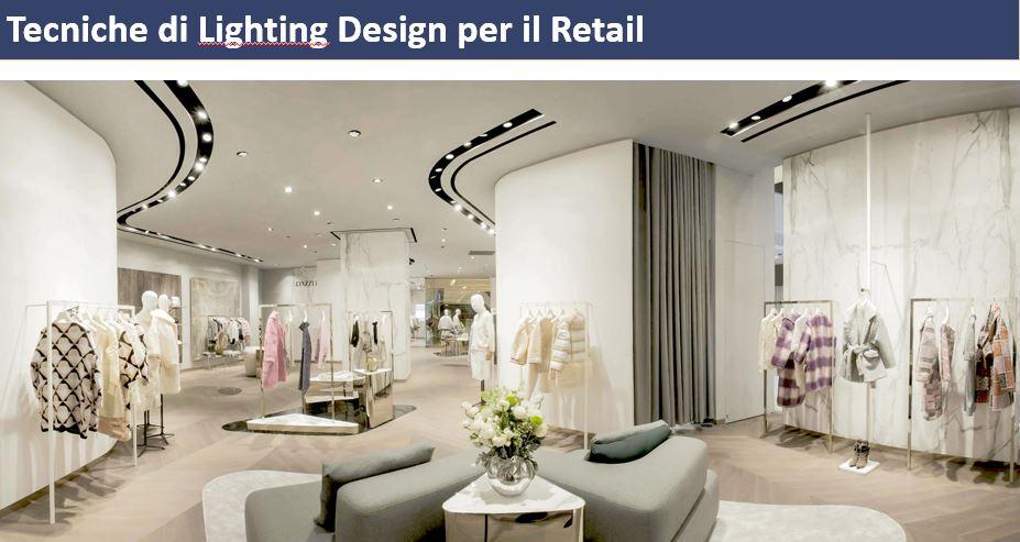 Tecniche di design per lilluminazione degli spazi di vendita