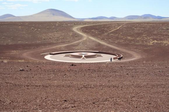 Roden Crater vista esterna