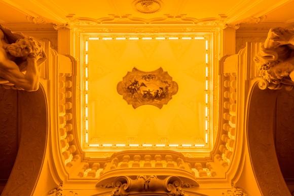 Olafur Eliasson Baroque Baroque Yellow corridor