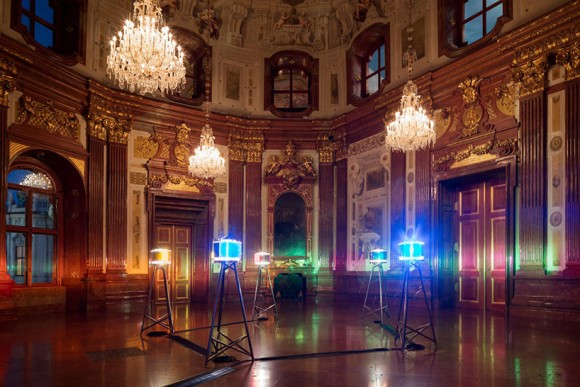 Olafur Eliasson Baroque five orientation light