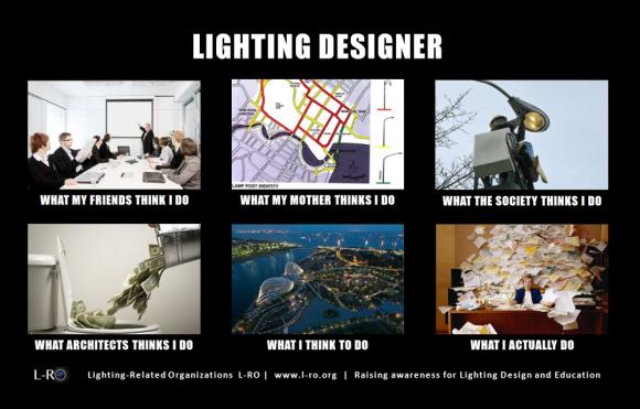 what really do a lighting designer