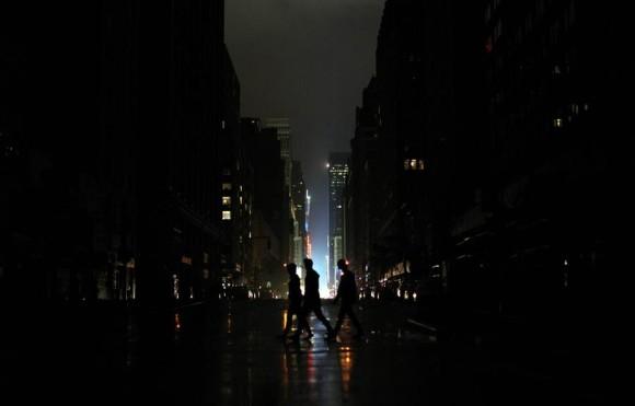 New York after Sandy Hurricane
