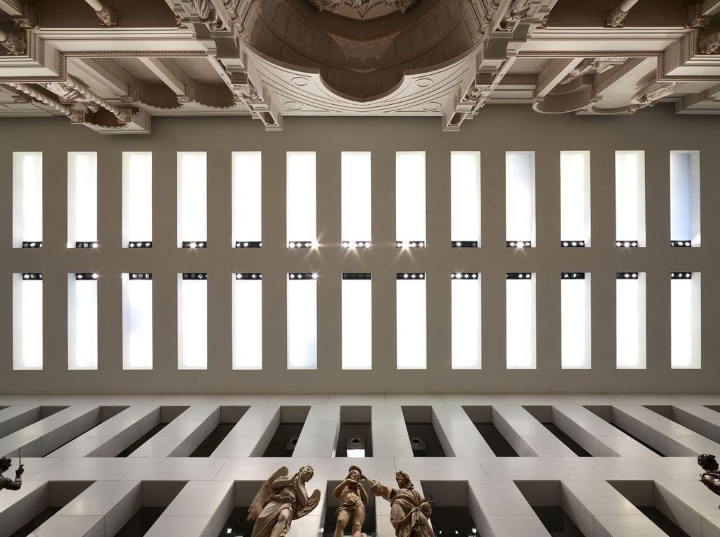 L illuminazione del museo dell opera del duomo di firenze