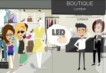 LED negli spazi di vendita header