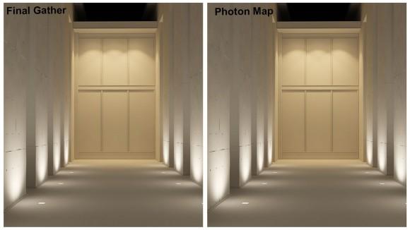 Simulazione della luce artificiale con 3DsMax