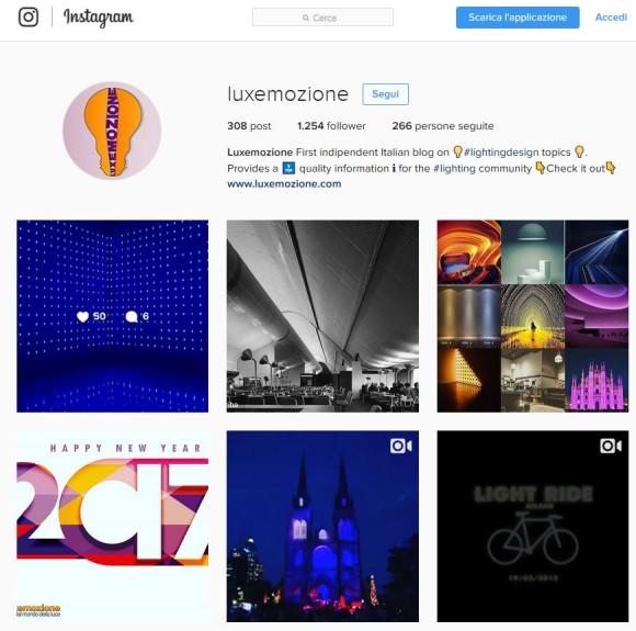 Luxemozione instagram