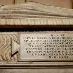 9-dettaglio-sepolcro-save-the-clock -Cappella di S.Monica