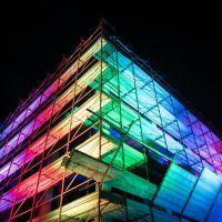 Pomezia light festival Voi siete qui, ogni cosa è illuminata_ Rakele Tombini_PLF2017